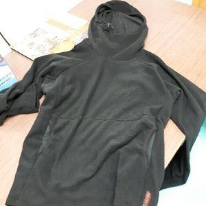 Melanzana Men's XL black hoodie